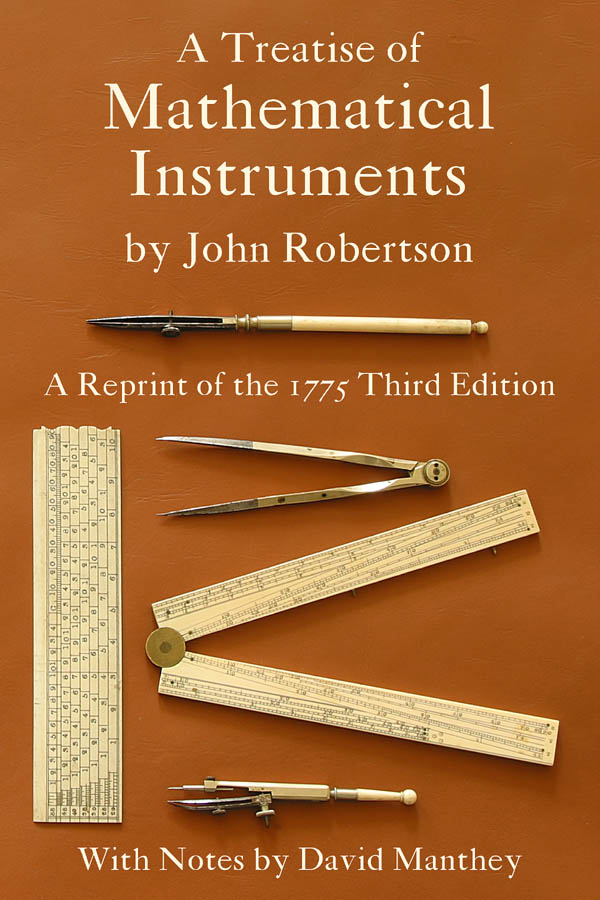 a treatise of mathematical instruments front cover